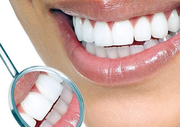 отражение зуб